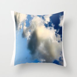 Ombre sky Throw Pillow