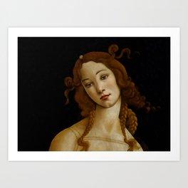 "Sandro Botticelli ""Venus"" (Sabauda Gallery, Turin) Art Print"