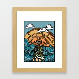 Island Time Framed Art Print
