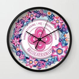 Kristi_Caterson Wall Clock