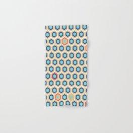 Digital Honeycomb Hand & Bath Towel