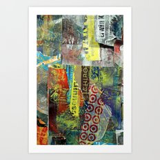 Layered 1 Art Print