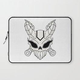 Corrupt Chaos Skull Laptop Sleeve