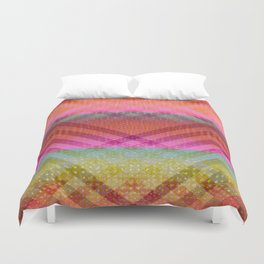 Colorful Angles Duvet Cover