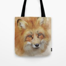 The Red Fox Tote Bag