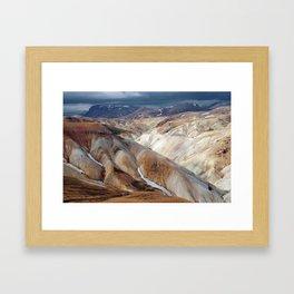 Landmannalaugar III Framed Art Print