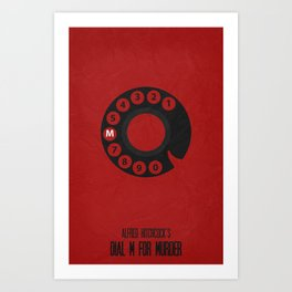 Dial M For Murder 01 Art Print