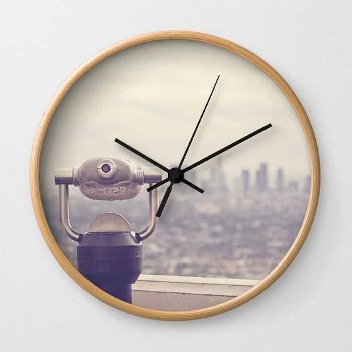 The View: Los Angeles Wall Clock