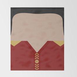 Khan Noonien Singh - Space Seed - Star Trek The Original Series TOS - startrek - Trektangles KHAAAN! Throw Blanket