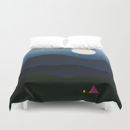 The joys of the great outdoors Duvet Cover