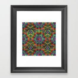 The Flower of Life (Sacred Geometry) 4 Framed Art Print