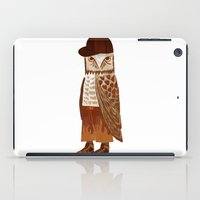 hip hop iPad Cases featuring Hip Hop Owl by Santiago Uceda