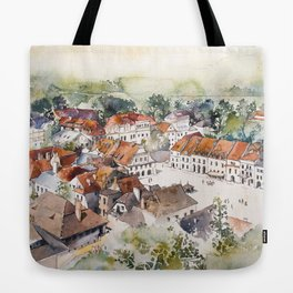 Old Marketplace in Kazimierz Dolny | Poland Tote Bag