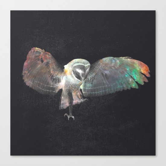 Ugla (Owl) Canvas Print