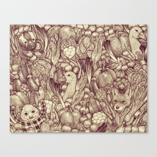 Fantastic Canvas Print