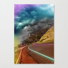 Roads and lines Canvas Print