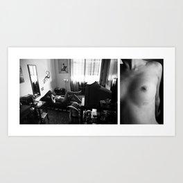 Intimitudini #11 Art Print