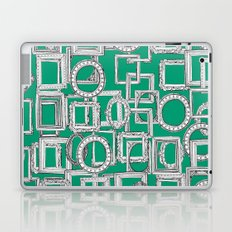 picture frames aplenty green Laptop & iPad Skin