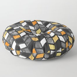 Fall Herringbone Floor Pillow