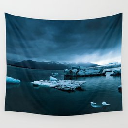 Blistering Cold Wall Tapestry