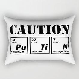 caution Putin Rectangular Pillow