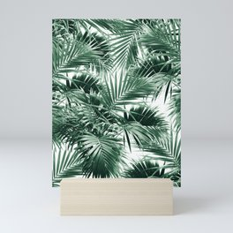 Tropical Palm Leaf Jungle #1 #tropical #decor #art #society6 Mini Art Print