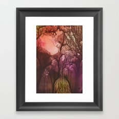 Stem 001. Framed Art Print