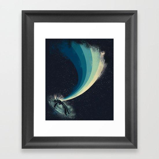 Self-destruct Framed Art Print