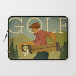 Vintage Golf Laptop Sleeve