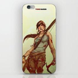 Tomb Raider iPhone Skin