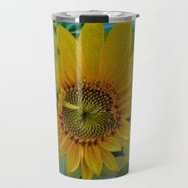 Sunflower Solar System Travel Mug