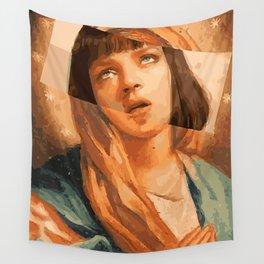 Virgin Mia Wall Tapestry