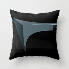 Deep Black Throw Pillow