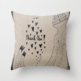 THANK YOU! Throw Pillow
