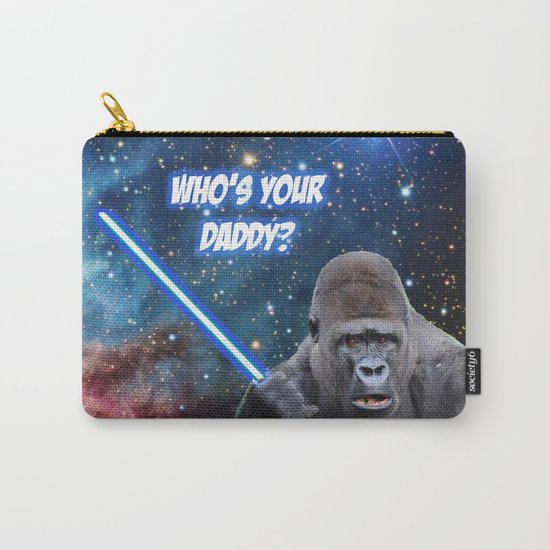 gorilla is your father Carry-All Pouch