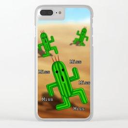 Final Fantasy - Cactuar Clear iPhone Case