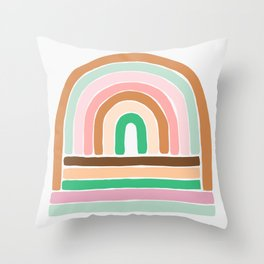 rainbow : original Throw Pillow