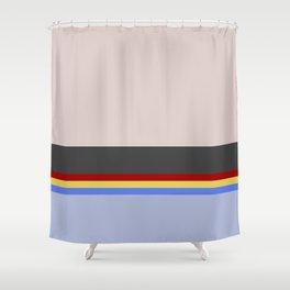 Wesley Crush er - Minimalist Star Trek TNG The Next Generation - 1701 D - startrek - Trektangles Shower Curtain