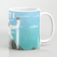yeti Mugs featuring Yeti by Artificial primate