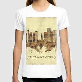 Johannesburg South Africa Cityscape T-shirt