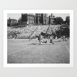 Football Game Art Print