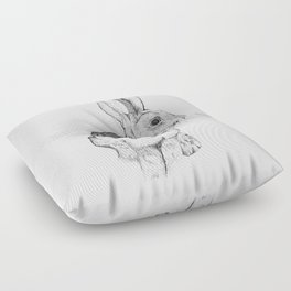 Bushman Hare Floor Pillow
