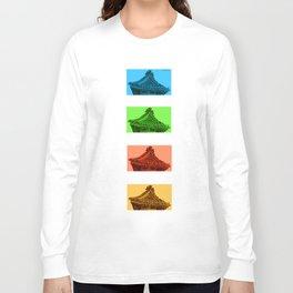 a few reflections on an elegant curve Long Sleeve T-shirt