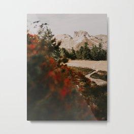 Mont Thabor/// Grand Séru Metal Print