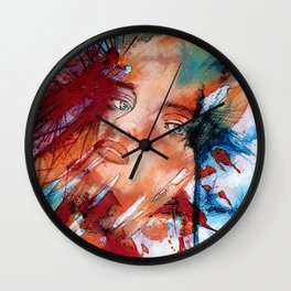 Evanescent 4 Wall Clock
