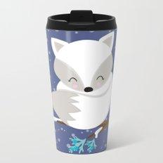 WINTERLAND FOX 2 Metal Travel Mug