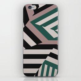 ASDIC/SONAR Dazzle Camouflage Graphic Design iPhone Skin