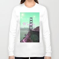 wander Long Sleeve T-shirts featuring Wander by Suzanne Kurilla