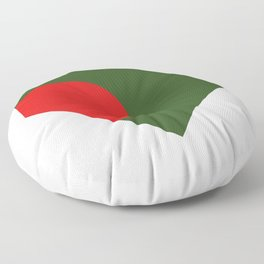 bangladesh flag Floor Pillow