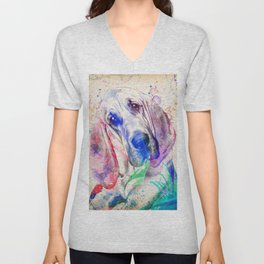 Bloodhound Unisex V-Neck